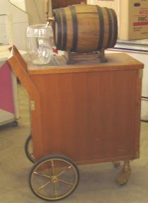 ビール ワゴン1