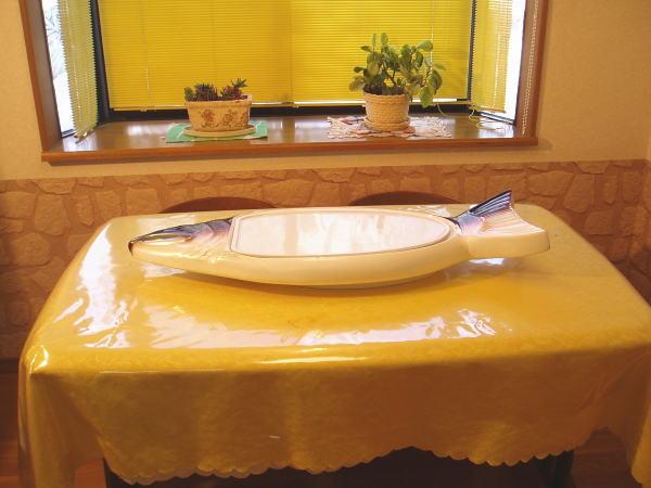 サーモン 皿